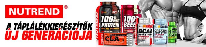 Nutrend Bodybuilding táplálékkiegészítők - kiváló minőség, kedvező ár!