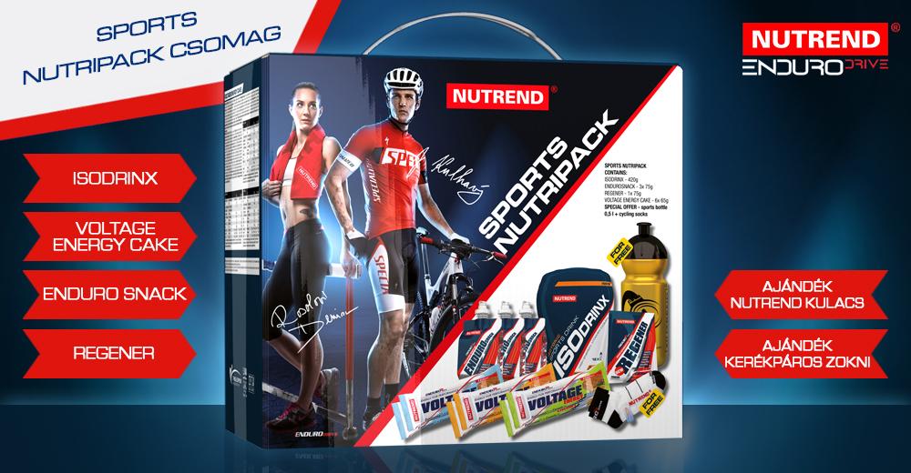Nutrend akciós csomagajánlatok állóképességi sportokhoz