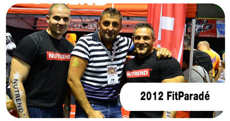 Nutrend Expo - FitParadé 2012