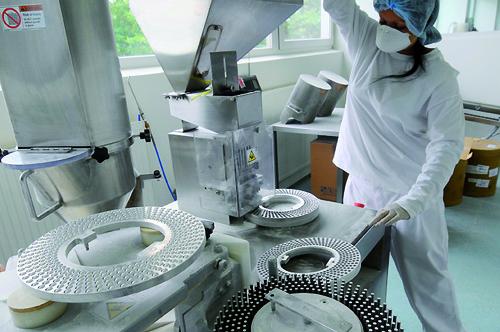 Nutrend kapszula és tabletta gyártástecnológiája